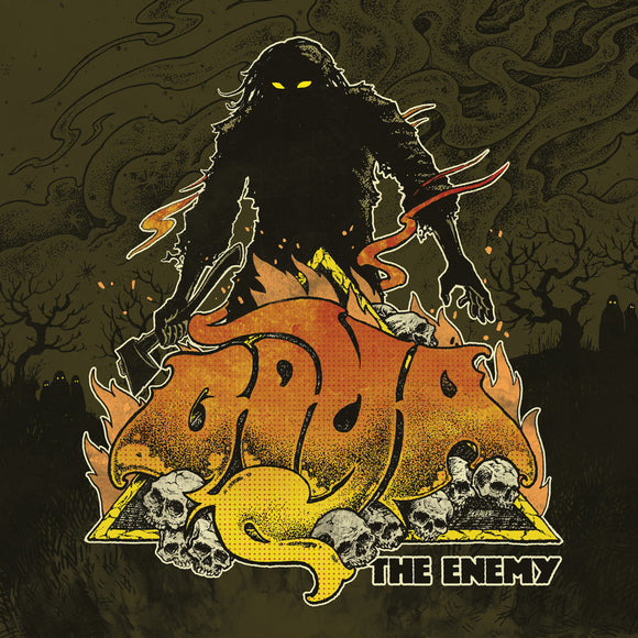 Goya - The Enemy (LP) (YELLOW/WHITE SWIRL)