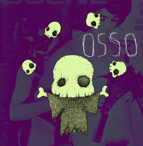 Osso - Self Titled (LP) (VIOLET)