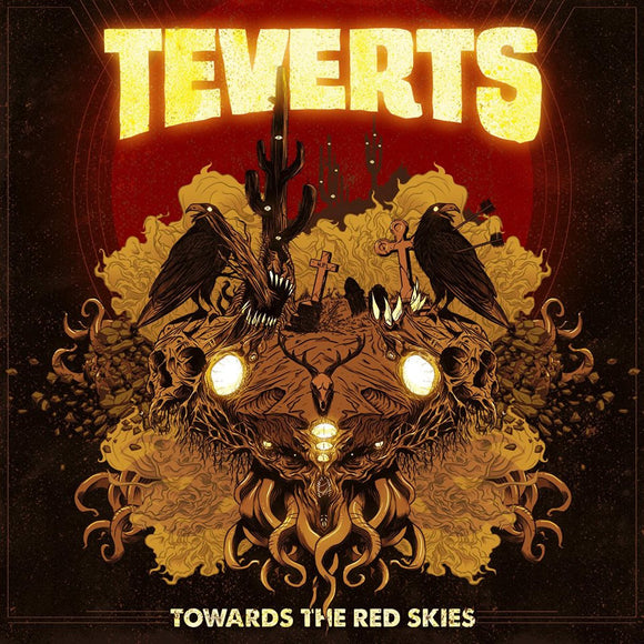 Teverts - Towards The Red Skies (LP) (GREEN)