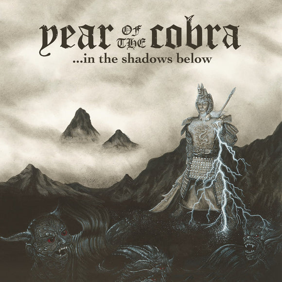 Year Of The Cobra - ...In The Shadows Below (LP) (BLACK / BLUE PINWHEEL)
