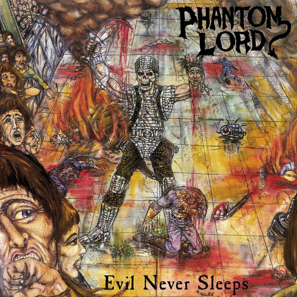Phantom Lord - Evil Never Sleeps (LP)