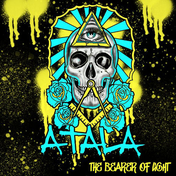 Atala - The Bearer Of Light (BLUE W/ BLACK SPLATTER) (LP)