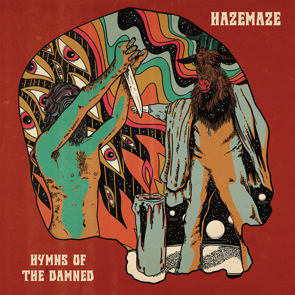 Hazemaze - Hymns Of The Damned Repress (LP) (ORANGE)