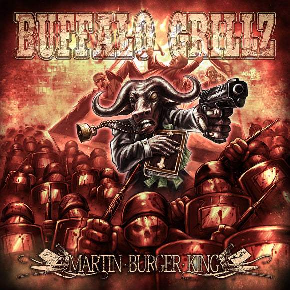 Buffalo Grillz - Martin Burger King (LP) (RED)