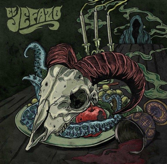 El Jafazo - El Jafazo (COVER 1) (BLACK/PURPLE SPLATTER) (LP)