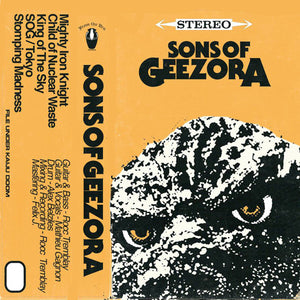 Sons Of Geezora - Sons Of Geezora (CASS)