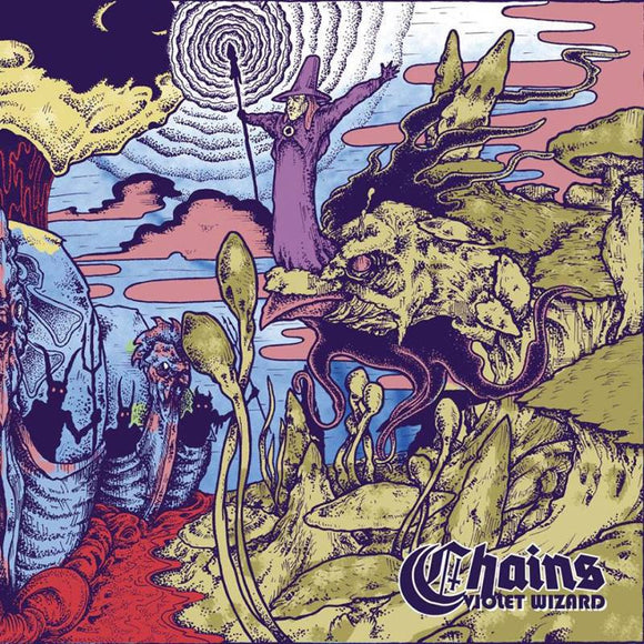 Chains - Violet Wizard (LP)