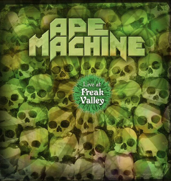 Ape Machine - Live At Freak Valley Limited Edition (LP) (DVD)