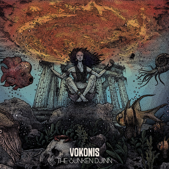 Vokonis - The Sunken Djinn (LP)