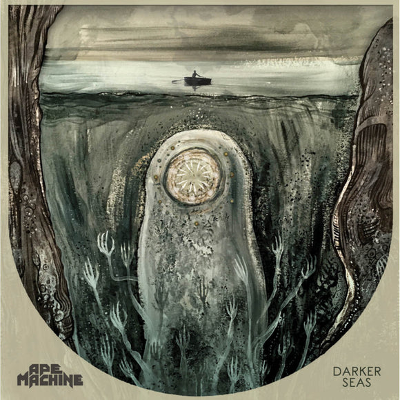 Ape Machine - Darker Seas (LP) (GREEN / MULTI COLORED)