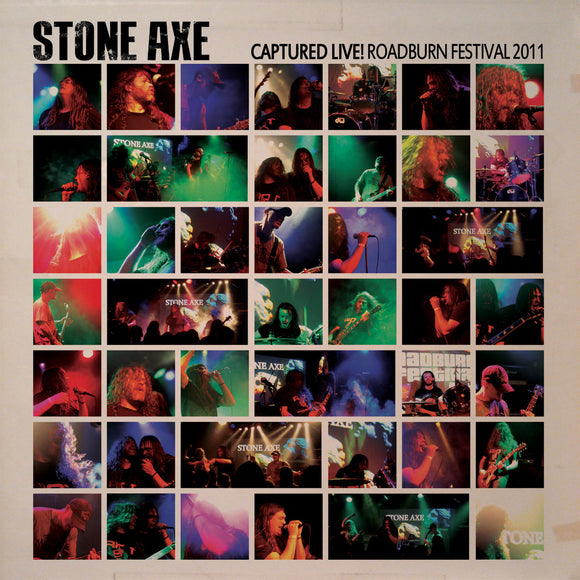 Stone Axe - Capture Live! Roadburn Festival 2011 (CD)