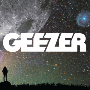 Geezer - Self Titled (LP) (2LP) (CLEAR W/ GREY/WHITE)