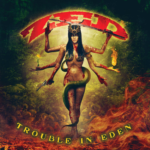 Zed - Trouble In Eden (CD)