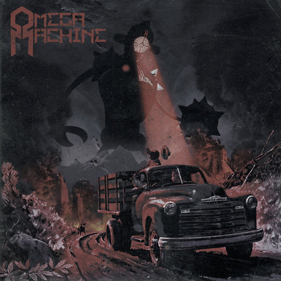 Omega Machine - The End That Comes With The Omega Machine (LP) (RED)