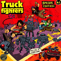 Truckfighters - Gravity X/Phi (Color) (IMPORT) (LP Box Set) Cover Art