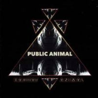 Public Animal - Habitat Animal (Black) (IMPORT) (LP) Cover Art