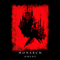 Monarch - Omens (Black) (LP) Cover Art