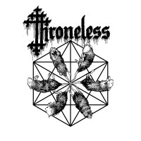 Throneless - Self Titled (Black) (IMPORT) (LP) Cover Art