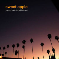 Sweet Apple - Wish You Could Stay (Purple Marble) (7 inch) Cover Art