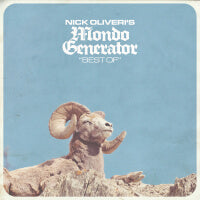 Nick Oliveri/Mondo Generator - Best Of (Baby Blue) (IMPORT) (2LP) Cover Art