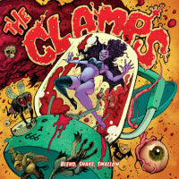 Clamps, The - Blend, Shake, Swallow (Green) (IMPORT) (LP) Cover Art