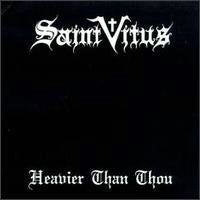 Saint Vitus - Heavier Than Thou (CD) Cover Art