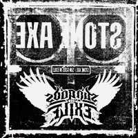 Stone Axe/Sun Gods in Exile - Split 7 inch (Green) (7 inch) Cover Art