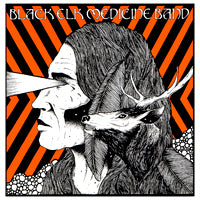 Black Elk Medicine Band - Santa Ana (7 inch) Cover Art