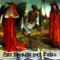 Burning Saviours - Hon Dansade med Doden (IMPORT) (7 inch) Cover Art