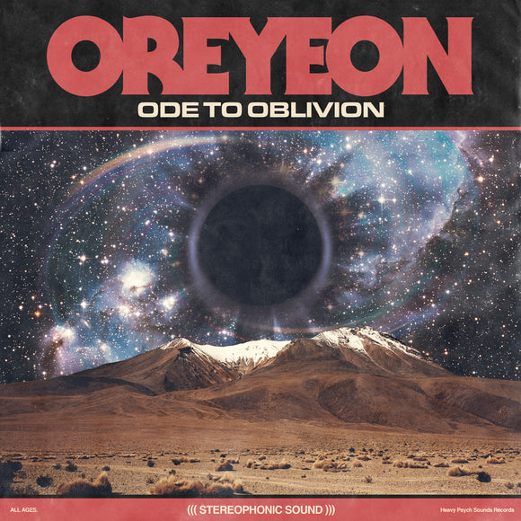 Oreyeon - Ode To Oblivion Ultra Limited (TRANSPARENT W/ RED/PINK FLUO/BLUE/BLACK SPLATTER) (LP)