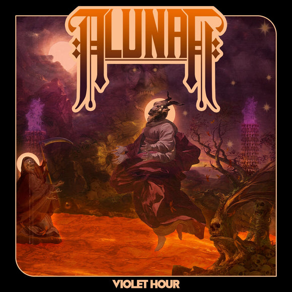 Alunah - Violet Hour Ultra Limited (TRANSPARENT ORANGE W/ PURPLE/BLACK/BLUE SPLATTER) (LP)