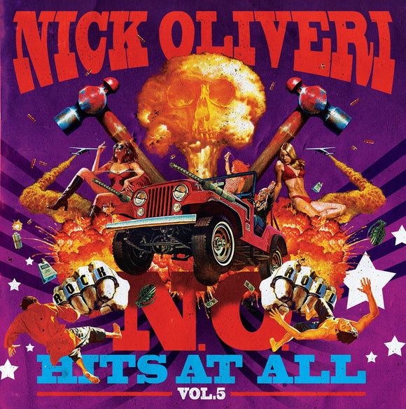 Nick Oliveri - N.O. Hits At All Vol. 5 (LP) (TRANSPARENT PURPLE SPLATTER)