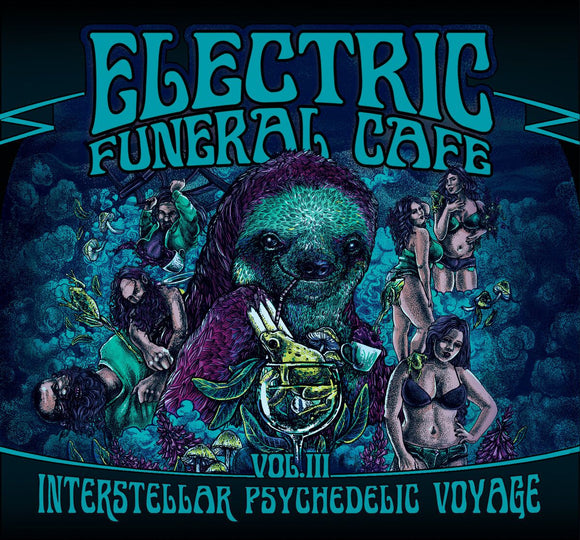 Various Artists - Electric Funeral Cafe Vol. III (CD) (3CD)