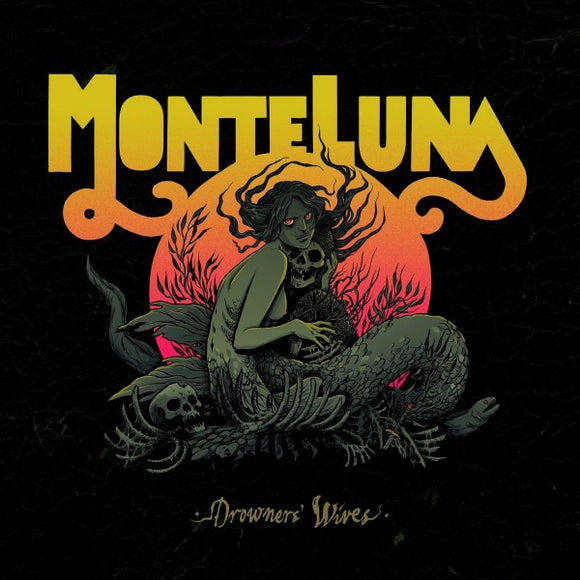 Monte Luna - Drowners' Wives (LP) (PINK/GREEN SPLATTER)