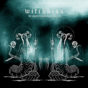 Witchkiss - The Austere Curtains Of Our Eyes (CLEAR/SEA BLUE SMOKE) (LP)