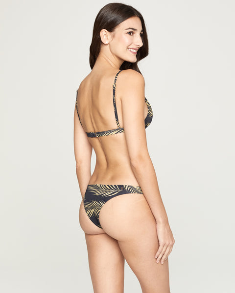 Mykonos Print Brazilian Bottom
