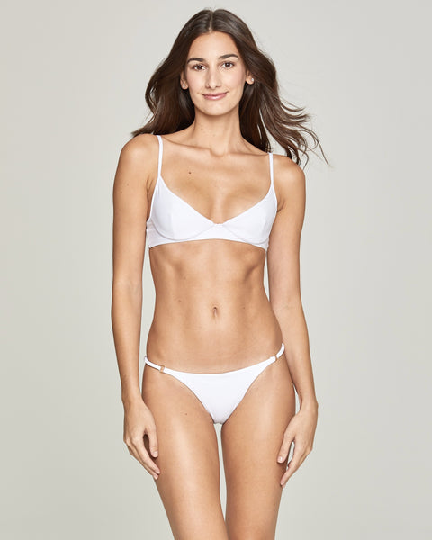 Saint-Tropez White Brazilian Bottom