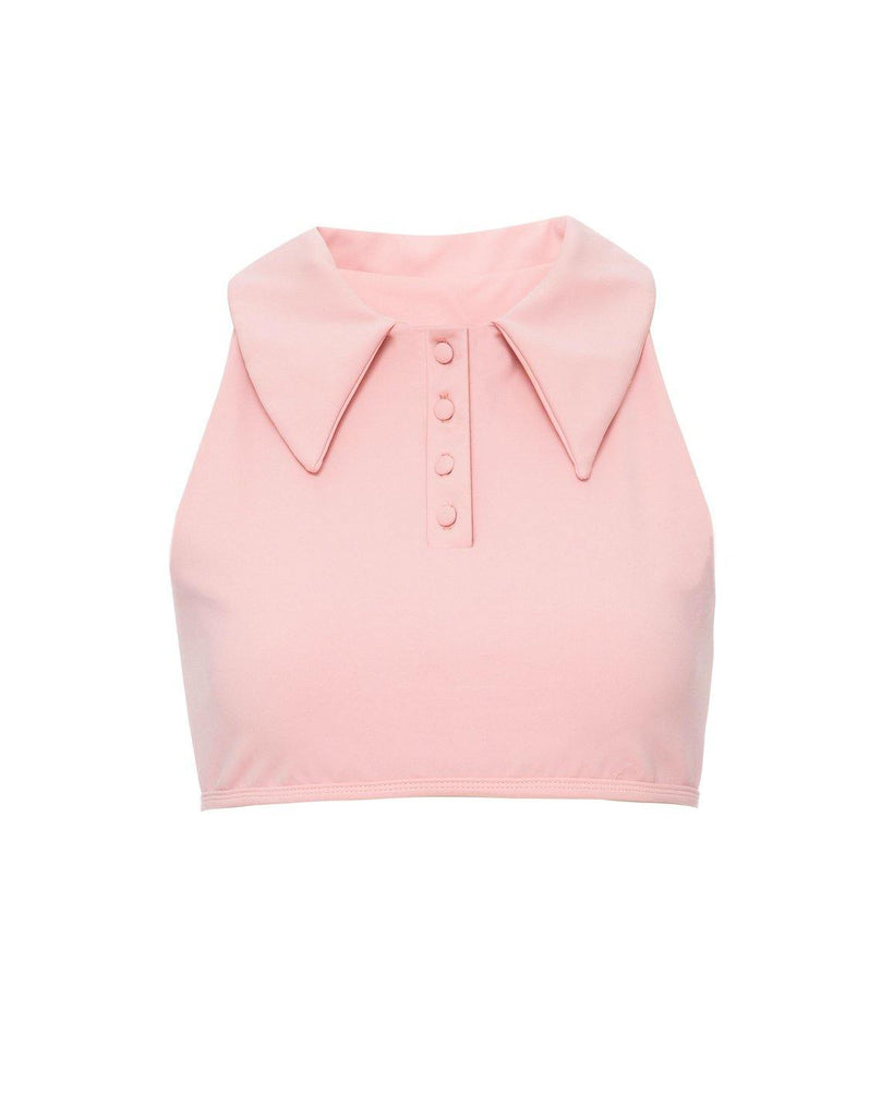 Tailored Blush Top - Ley Brasil