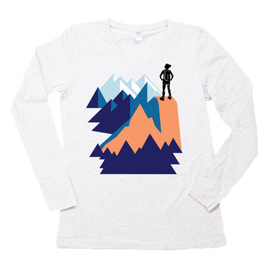 Conquer Super Soft Organic Long Sleeve Tee
