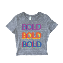 Bold Echo Earth Friendly Crop Tee