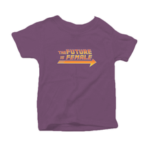 The Future is Female Little Kid Organic Cotton Tee