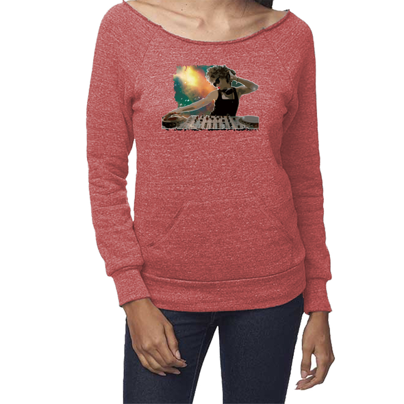 Astro DJ Eco-Friendly Raglan