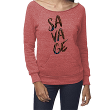 Savage Eco-Friendly Fleece Raglan