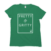 New! Pretty & Gritty Luxe Cotton Tee