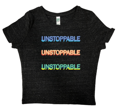 Unstoppable Echo Crop Tee