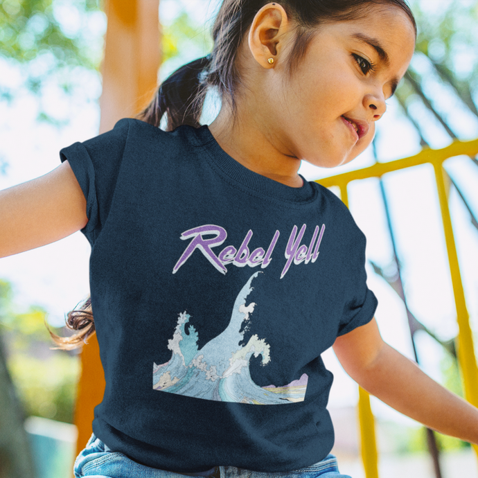 Wave of Rebellion Organic Little Kid Tee