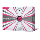Callaway 2017 Supersoft Golf Balls (One Dozen) Pink