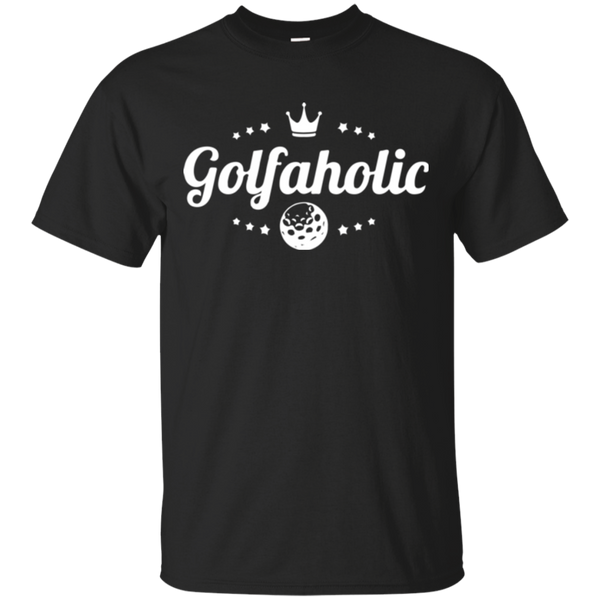 Golfaholic - Cotton T-Shirt