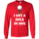 Hole in 1 - LS T-Shirt