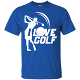 I Love Golf - Cotton T-Shirt
